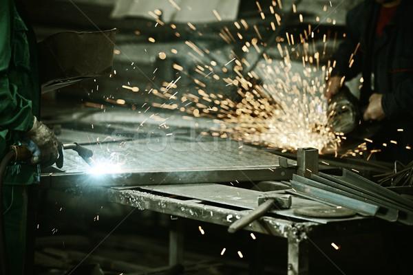 Lavoratore ferro professionali strumento industriali Foto d'archivio © zurijeta