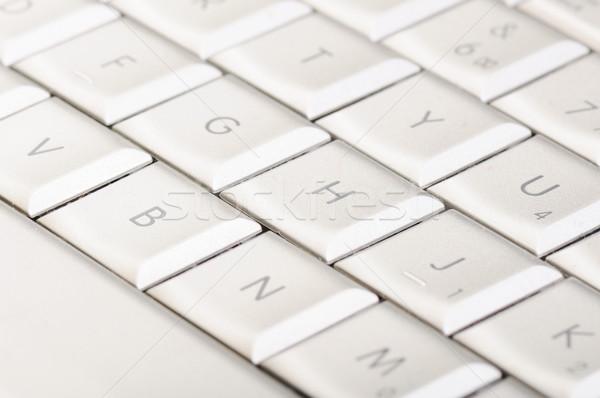 Bianco tastiera business ufficio iscritto lettera Foto d'archivio © zurijeta