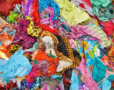 Textile fabric background Stock photo © zurijeta
