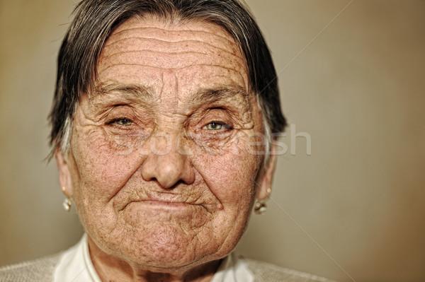 Portrait of mature woman  Stock photo © zurijeta