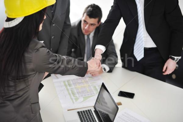 Documentos ideas reunión personas Foto stock © zurijeta