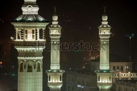 Iszlám szent hely legnagyobb döntés képek Stock fotó © zurijeta