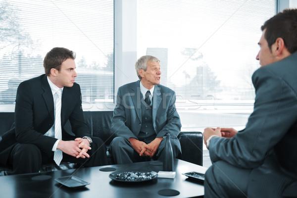 ストックフォト: ビジネスの方々 · ブレーク · ビジネス · 女性 · オフィス · グループ