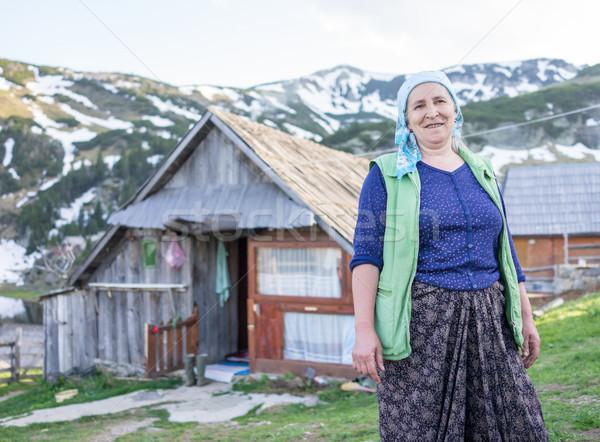 Turco país mulher tradicional roupa cara Foto stock © zurijeta