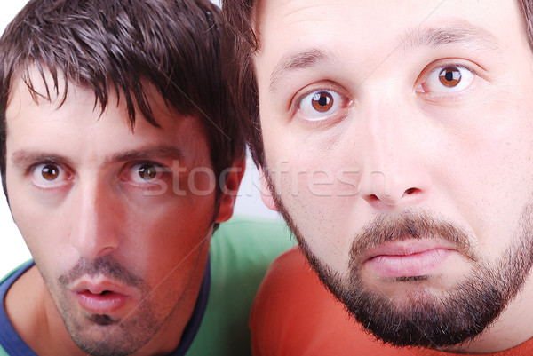 Two surprised man Stock photo © zurijeta