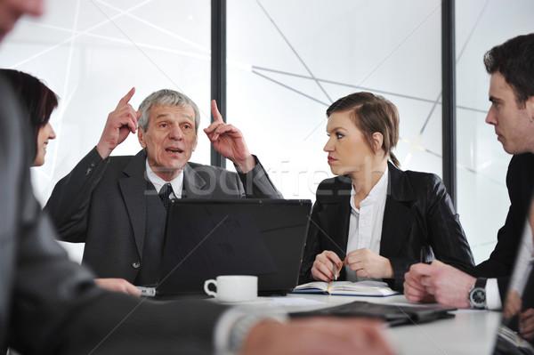 Grupo pessoas de negócios discussão escritório negócio mulheres Foto stock © zurijeta