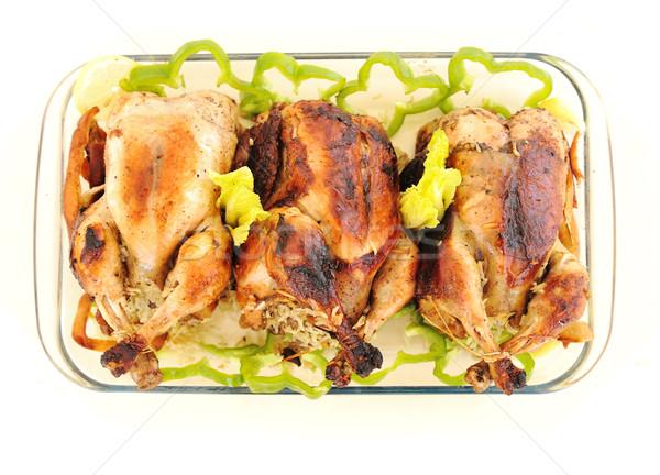 подготовленный куриные кухне таблице сыра Сток-фото © zurijeta