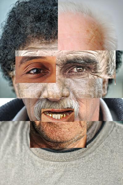 Foto d'archivio: Umani · faccia · parecchi · diverso · persone · artistico