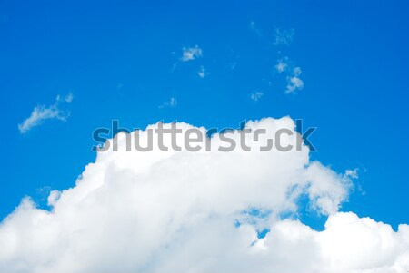 Sky and clouds, background Stock photo © zurijeta