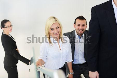 Successful business people Stock photo © zurijeta