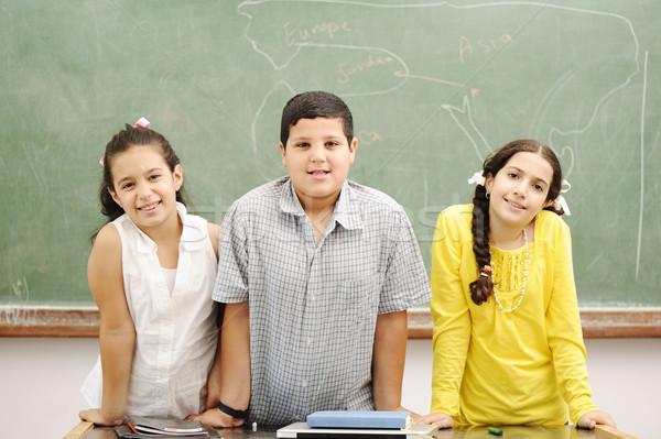 Сток-фото: образование · деятельность · классе · школы · счастливым · детей