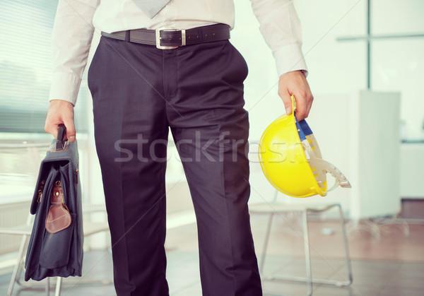 Low section of business man Stock photo © zurijeta