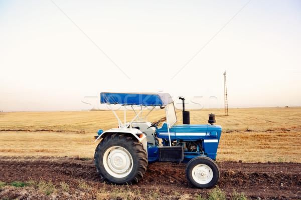 Agriculture - tractor Stock photo © zurijeta