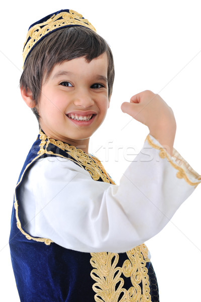 Middle-eastern child showing of Stock photo © zurijeta