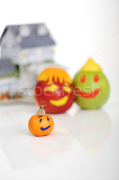 дома фрукты семьи дома продовольствие яблоко Сток-фото © zurijeta