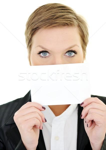 商業照片: 女子 · 口 · 面對 · 空間 · 肖像