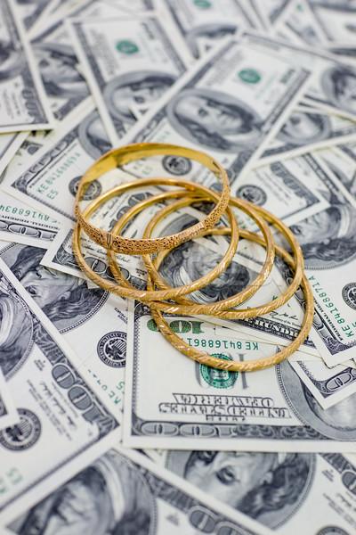 Dollars and gold Stock photo © zurijeta
