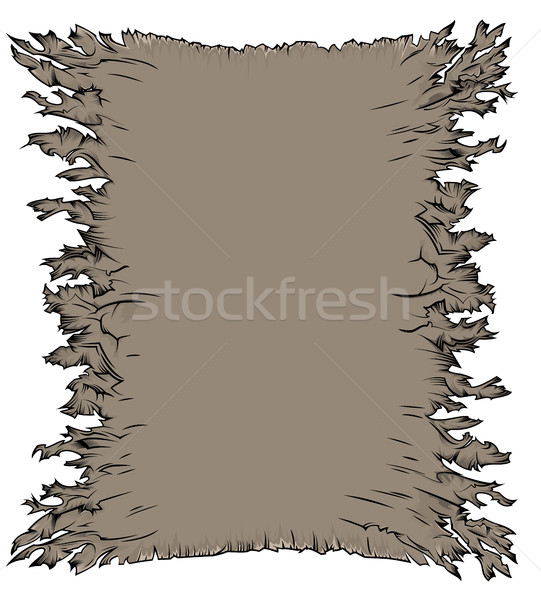Old paper parchment grungy texture background Stock photo © Zuzuan