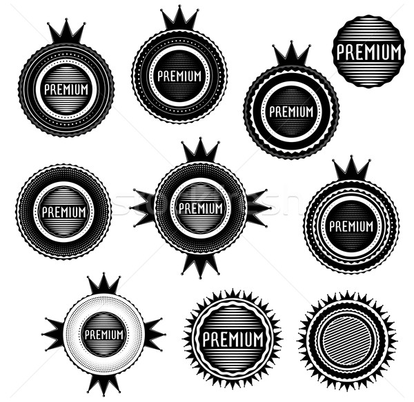 премия марок штампа карт графических продажи Сток-фото © Zuzuan