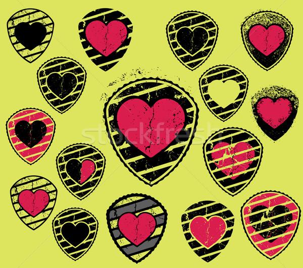 心臓の形態 ロマンチックな バレンタイン 日 シンボル 春 ストックフォト © Zuzuan