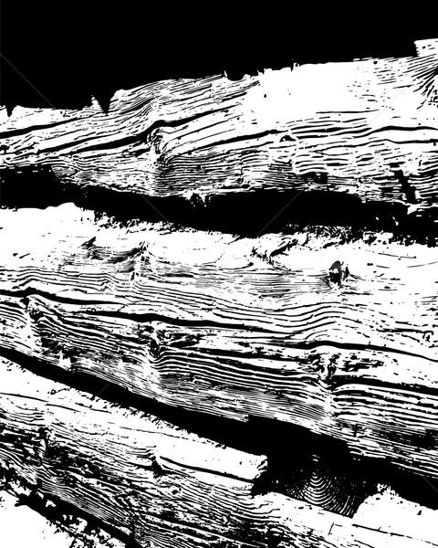 Photo stock: Bois · rêche · planche · texture · bois · résumé