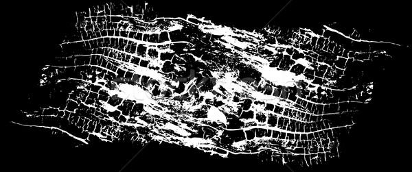 Fából készült textúra fa absztrakt terv fekete Stock fotó © Zuzuan