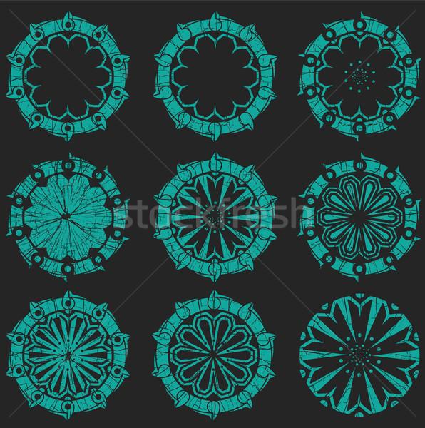 геометрический форма дизайна кадр Сток-фото © Zuzuan