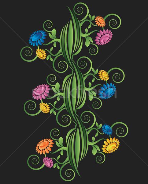 декоративный цветочный дизайна текстуры аннотация фон Сток-фото © Zuzuan