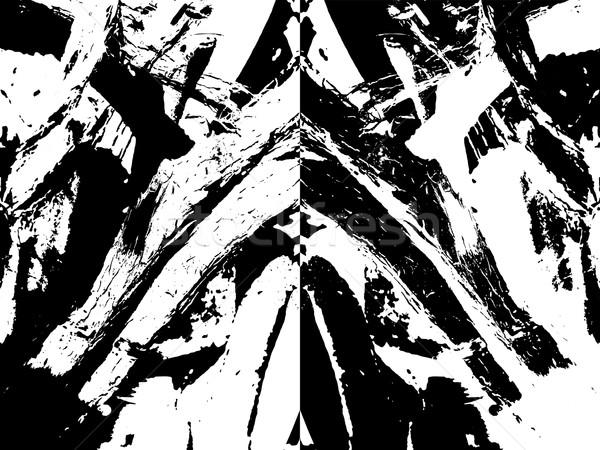 Streszczenie linie tekstury drewna projektu czarny Zdjęcia stock © Zuzuan