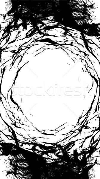 Karcolás por zaj koszos textúra absztrakt Stock fotó © Zuzuan