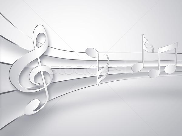 musical design Stock photo © zven0