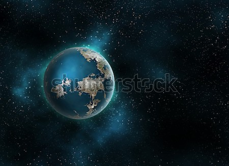 planet in space Stock photo © zven0