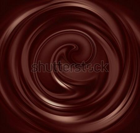 liquid chocolate  Stock photo © zven0