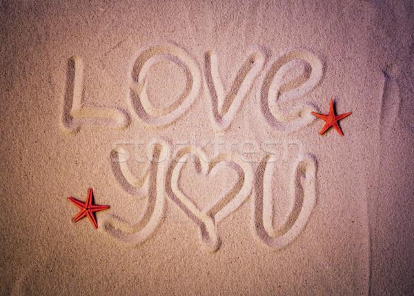 Amor Escrito En Arena: Amor · Texto · Escrito · Arena · Mar · Playa