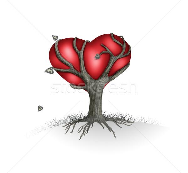 love Tree Stock photo © zven0
