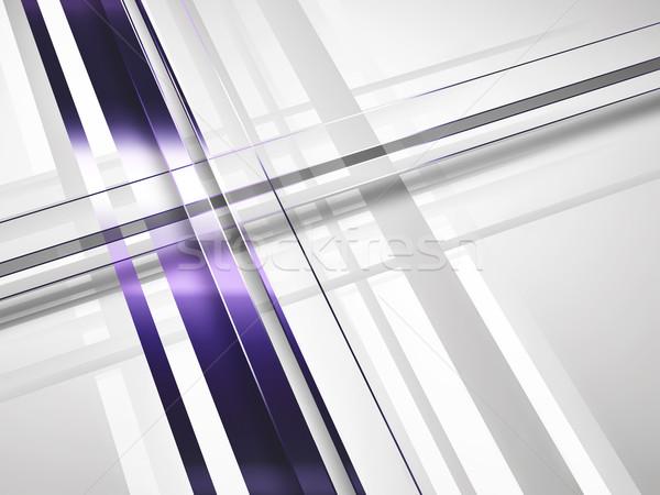 Business moderne abstract gestreept papier textuur Stockfoto © zven0
