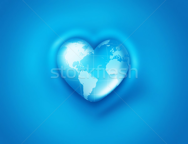 World Heart Stock photo © zven0