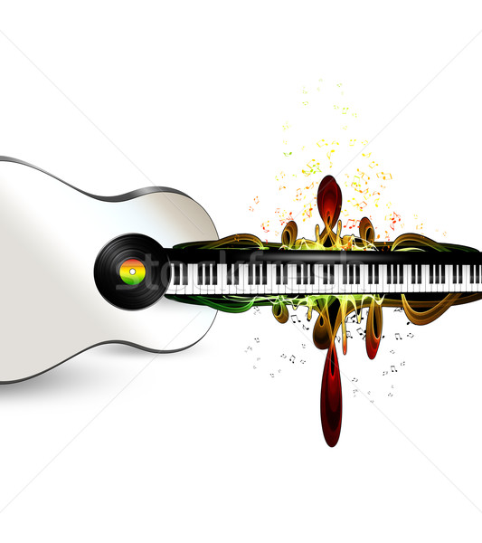 musical background  Stock photo © zven0