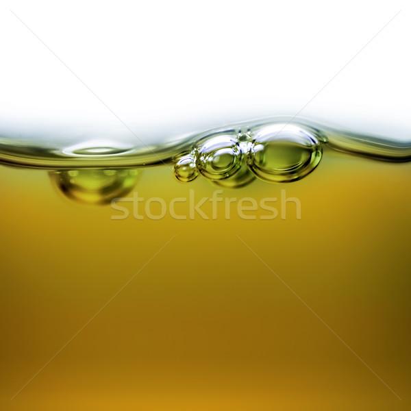Öl Blasen Luft Hintergrund Schönheit Industrie Stock foto © zven0