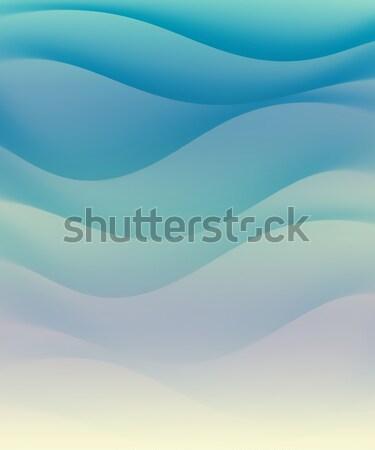 Сток-фото: синий · воды · волны · аннотация · фон · океана