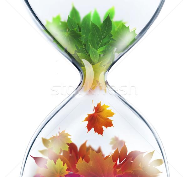 Mevsim yaz kum saati iş doğa dizayn Stok fotoğraf © zven0