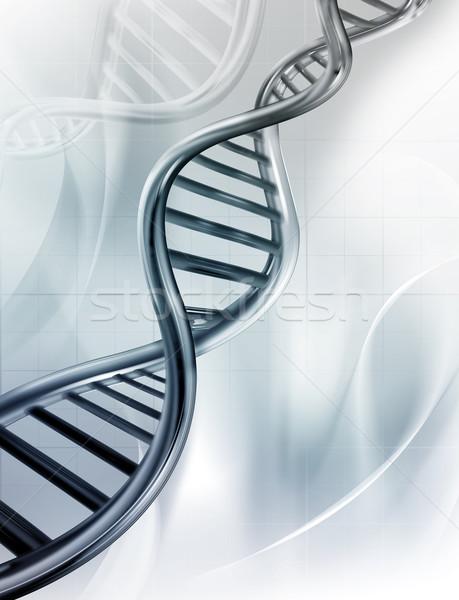 Dna abstract medische natuur ontwerp model Stockfoto © zven0