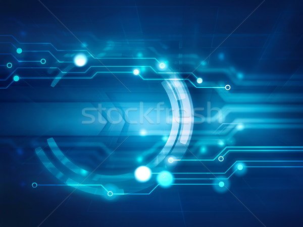 high tech background Stock photo © zven0