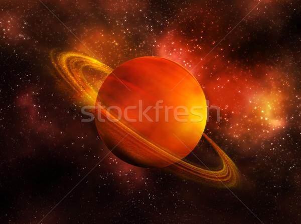 Saturn Stock photo © zven0