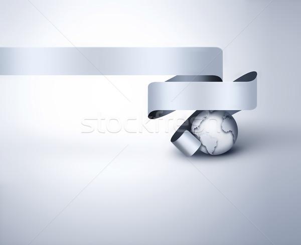 Business abstract moderne ontwerp wereld wereldbol Stockfoto © zven0