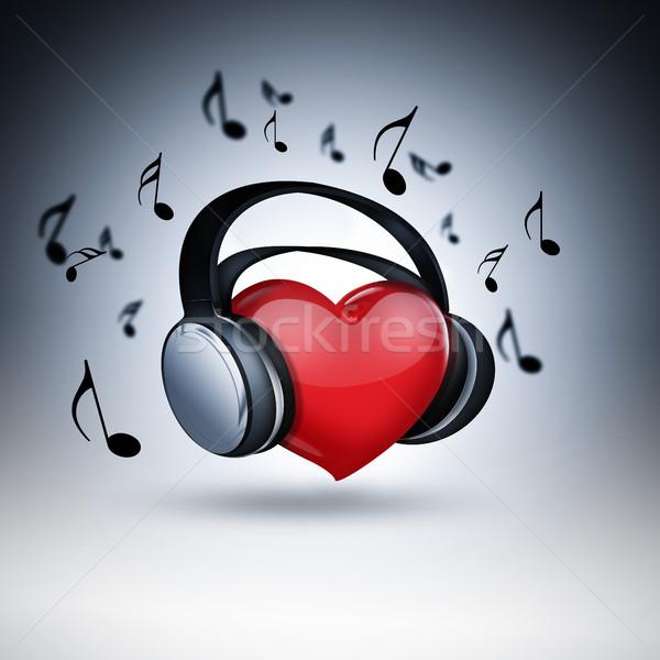 music lover Stock photo © zven0