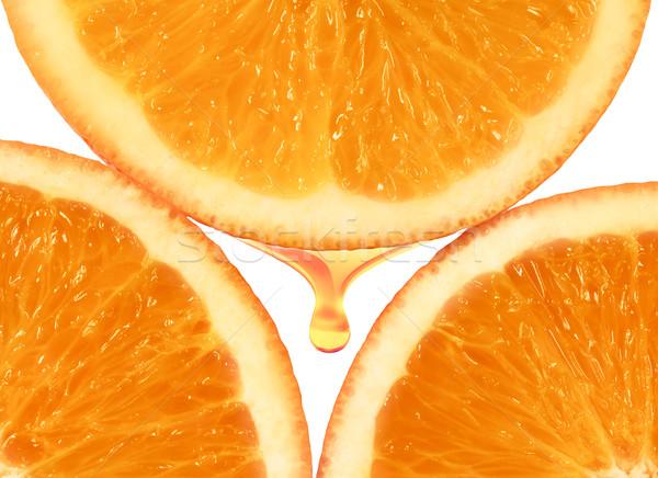 orange pulp Stock photo © zven0