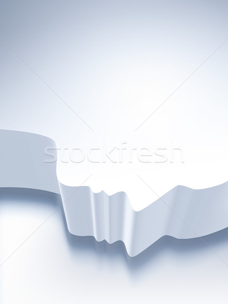 silhouette of human face Stock photo © zven0