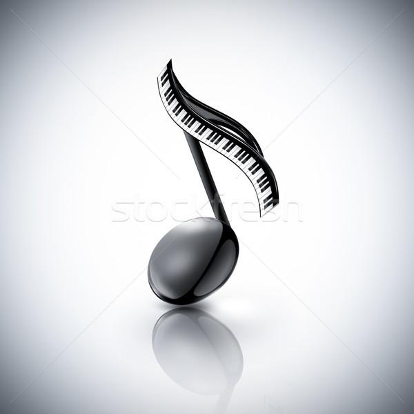 musical note Stock photo © zven0