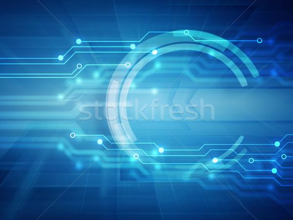 high tech background Stock photo © zven0